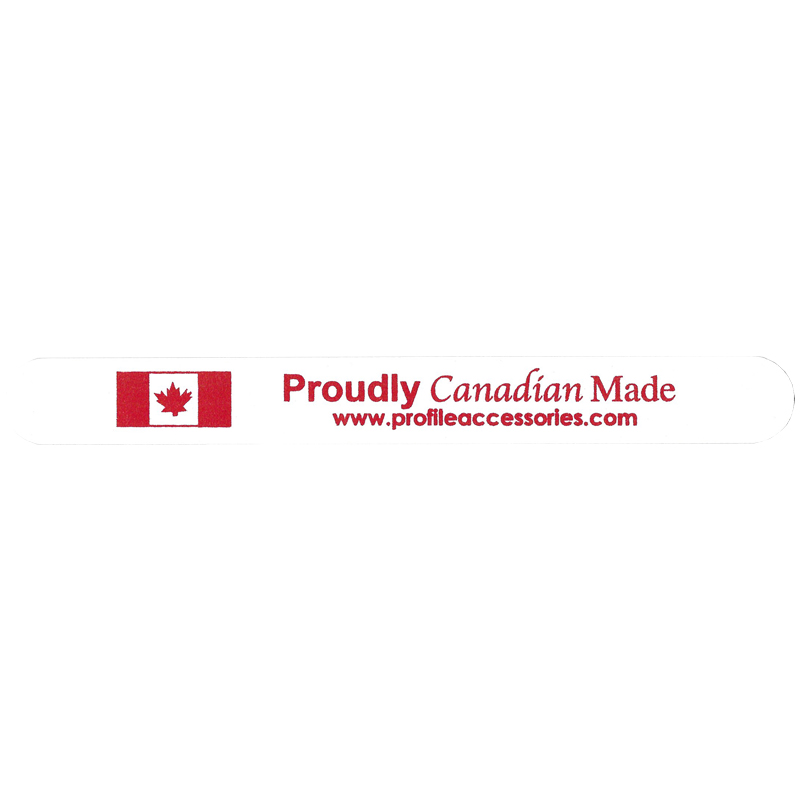 Proudly Canadian Made