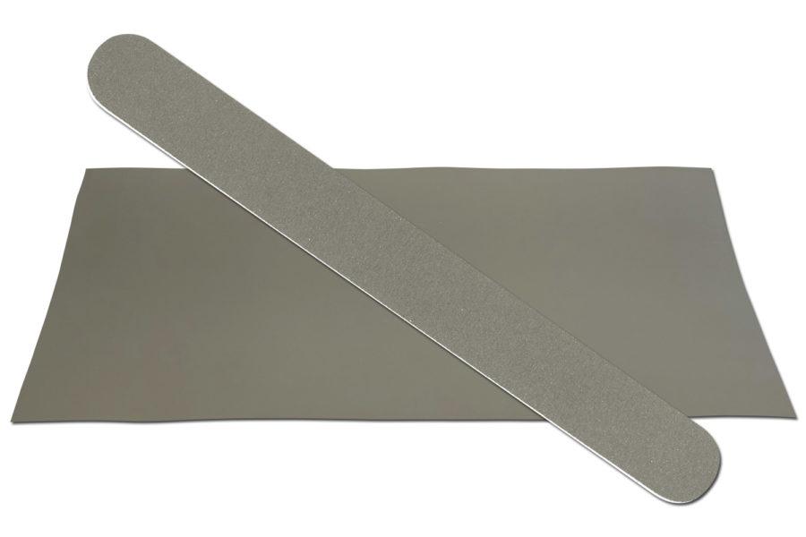 Solid Dark Grey Emery Board