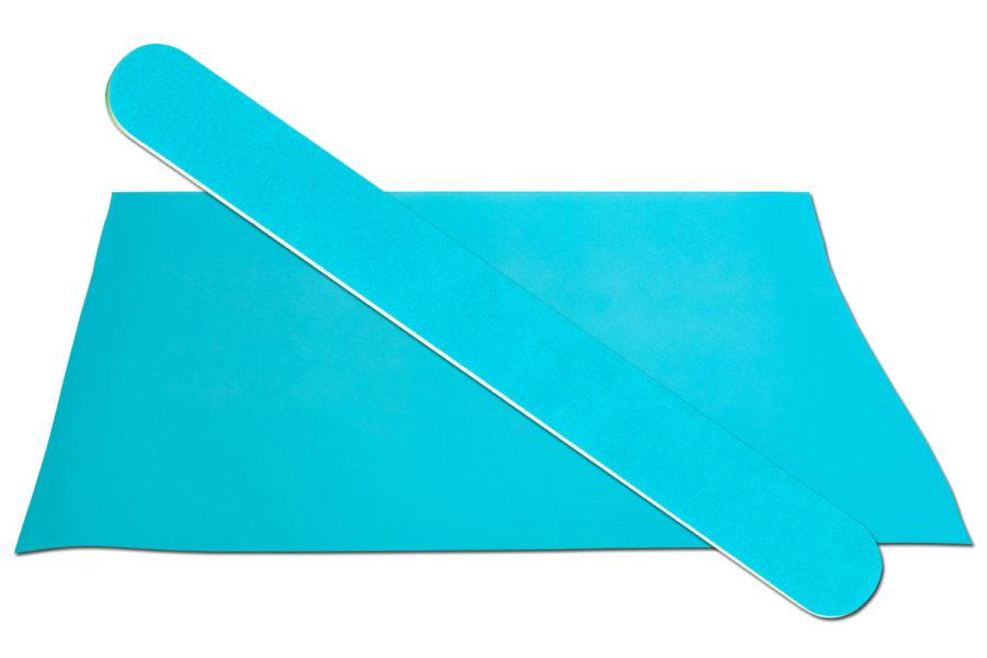 Solid Aqua Emery Board