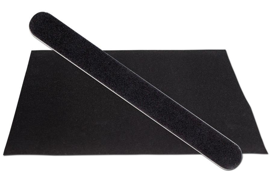 Solid Black Emery Board