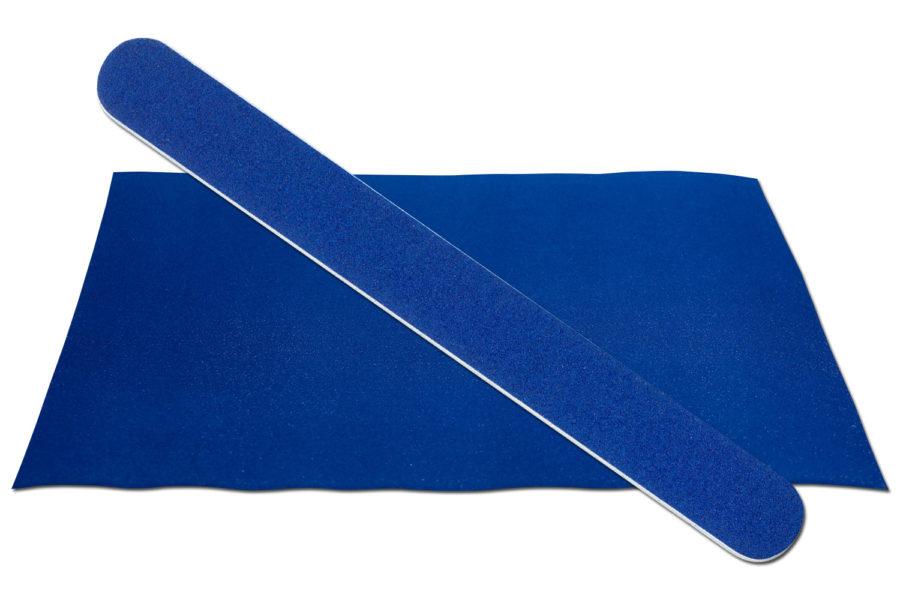 Solid Dark Blue Emery Board