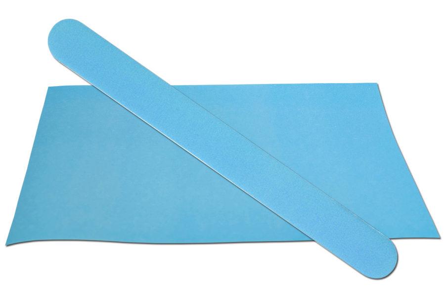 Solid Light Blue Emery Board