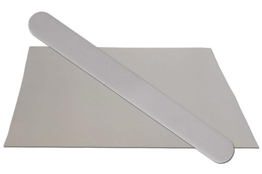 Solid Grey Emery Board