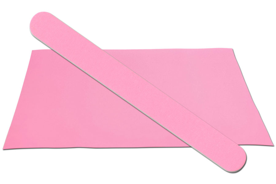 Solid Light Pink Emery Board