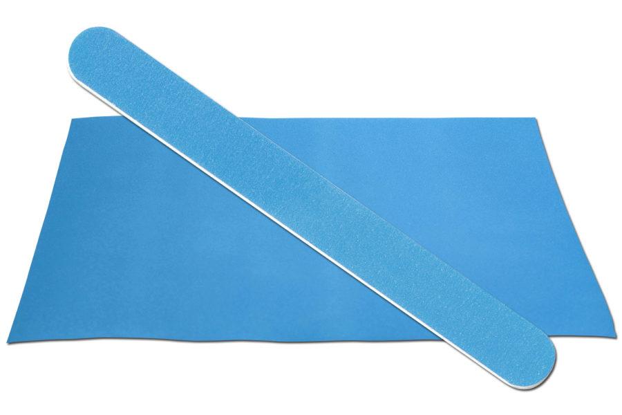 Solid Medium Blue Emery Board