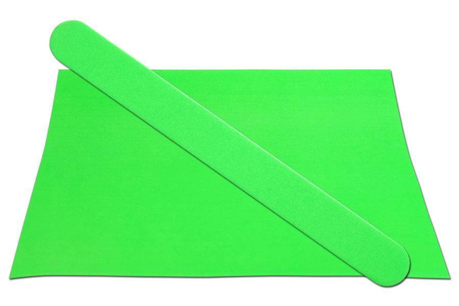 Solid Neon Green Emery Board