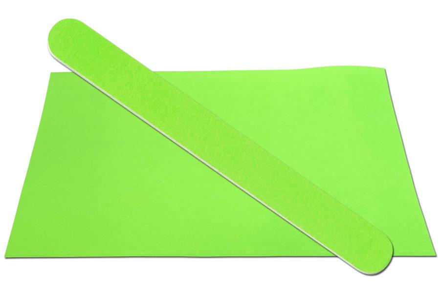 Solid Spring Green Emery Board