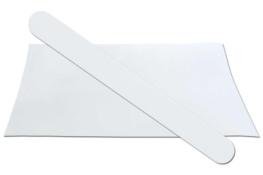 Solid White 280 Emery Board