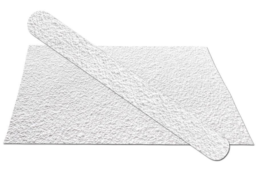 Solid White 80 Emery Board