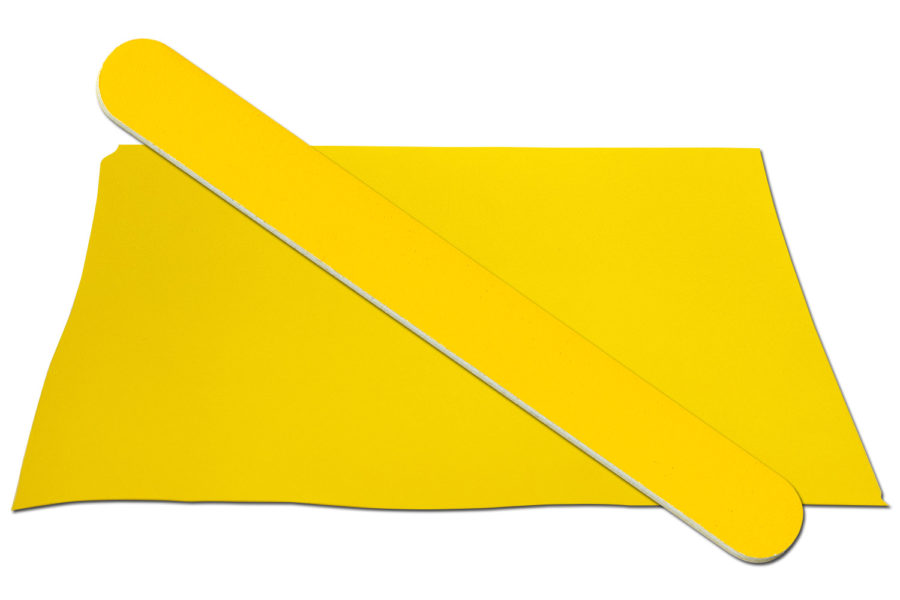 Solid Yellow Emery Board